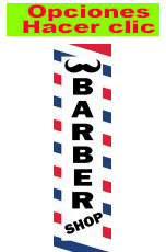 BARBER SHOP RECTANGULAR